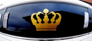 Krone auf Limo
