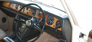 Rolls Royce Oldtimer Interieur
